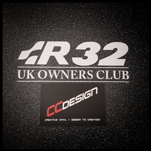 """OFFICIAL"" R32UKOC CLUB STICKER"